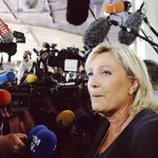 Marine Le Pen se pose en «candidate du peuple»