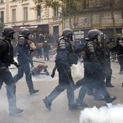 Manifestant blessé à l'oeil : vidéos à l'appui, un syndicat affirme qu'«une grenade» est en cause