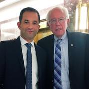 En campagne aux États-Unis, Benoît Hamon rencontre Bernie Sanders