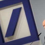 Deutsche Bank paie les erreurs d'un passé glorieux