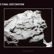 Crash de fin pour Rosetta sur la comète