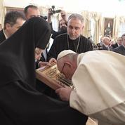 Géorgie: le pape fraîchement accueilli