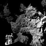 Rosetta[ro-ze-ta] A longtemps fait des gros plans sur la comète