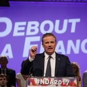 Dupont-Aignan appelle au «seul vrai vote utile»