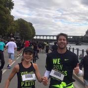 Maxwell court les 10km de Paris et arrive après sa femme