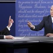 Au débat des vice-présidents, Kaine s'épuise à l'attaque, Pence l'emporte à l'esquive