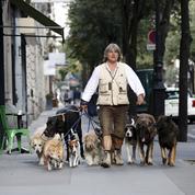 Franck Philip, dresseur de chiens à Paris