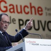 Intervenir dans le débat sans être en campagne, le casse-tête de Hollande