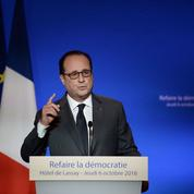 François Hollande refuse le «grand soir institutionnel»