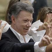 Le prix Nobel de la paix attribué au président colombien Santos