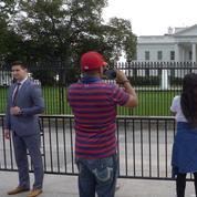 Devant la Maison-Blanche, des touristes américains entre inquiétude et indifférence