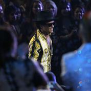 Bruno Mars: le sacre très festif du nouveau roi de la pop