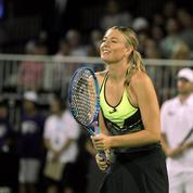 Sharapova fait son retour sur les courts... pour une exhibition