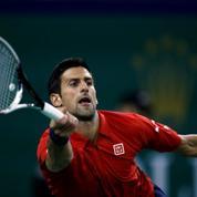 Novak Djokovic tout près d'assommer un arbitre