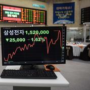 Samsung pourrait peser sur la croissance de la Corée du Sud