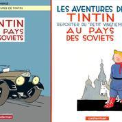 Tintin au pays des Soviets prend de la vitesse et des couleurs
