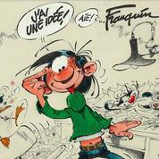 Gaston Lagaffe fête son anniversaire à Beaubourg