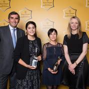 Jean-Marc Gallot décerne le prix de la femme d'affaires Veuve Clicquot 2016