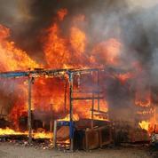 «Jungle» de Calais : le demantèlement s'achève