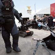 Les interventions des démineurs ont bondi depuis les attentats