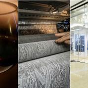 Du cristal au vin, ces joyaux français croqués par les Chinois