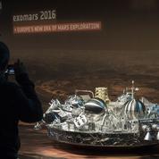 Mars : le cratère d'impact de l'atterrisseur européen Schiaparelli retrouvé