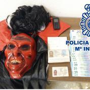 Un grand caïd français arrêté en Espagne, déguisé en diable