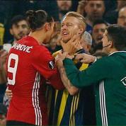 Zlatan Ibrahimovic pète un plomb face à Fenerbahçe