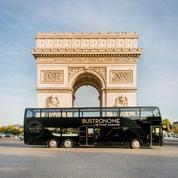 Bpifrance monte à bord des autobus à impériale Bustronome