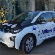 Autopartage: Allianz est équipé de BMW i3 électrique
