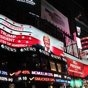 Times Square est groggy: «Je ne peux pas croire que c'est la réalité»