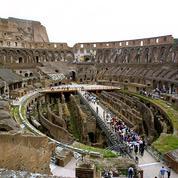 Le Colisée menacé par l'interruption des travaux du métro de Rome
