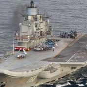 Un porte-avions russe est arrivé au large des côtes syriennes