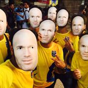 En Inde, 35.000 masques de Zidane pour accueillir Materazzi et son équipe