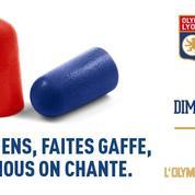 L'OL chambre les supporteurs parisiens en leur envoyant des bouchons d'oreilles