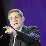Nicolas Sarkozy : «C'est un temps pour les marins solides et pas pour les girouettes»