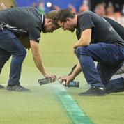 Un match de MLS retardé pour pouvoir tracer les surfaces de réparation au bon endroit