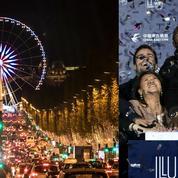 Illuminations de Paris: Teddy Riner, roi des Champs-Élysées
