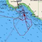 Vendée Globe : Tanguy de Lamotte dessine un coeur avec son bateau avant de rentrer