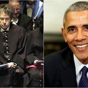 Après l'Académie suédoise, Bob Dylan snobe Barack Obama