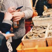 Huîtres, vin chaud et foie gras au Food Market de Noël