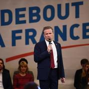 Nicolas Dupont-Aignan le «gaulliste social» fustige le programme libéral de Fillon