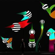 Fête des Lumières de Lyon : camion toupie, Tim Burton et marionnettes géantes