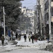 Nuit d'enfer à Alep, entre la vie et la mort