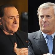 Entre Berlusconi et Bolloré, la guerre fait rage
