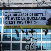 EDF veut porter plainte contre Greenpeace après un happening