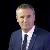 Pour Nicolas Dupont-Aignan, Macron et Fillon sont des «bulles»