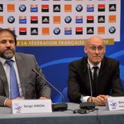 Président de la FFR, Bernard Laporte quitte RMC