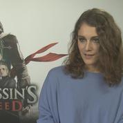 Ariane Labed dans Assassin's Creed ,la petite Française qui tue !