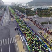 En Chine, on paye des doublures pour couvrir les marathons